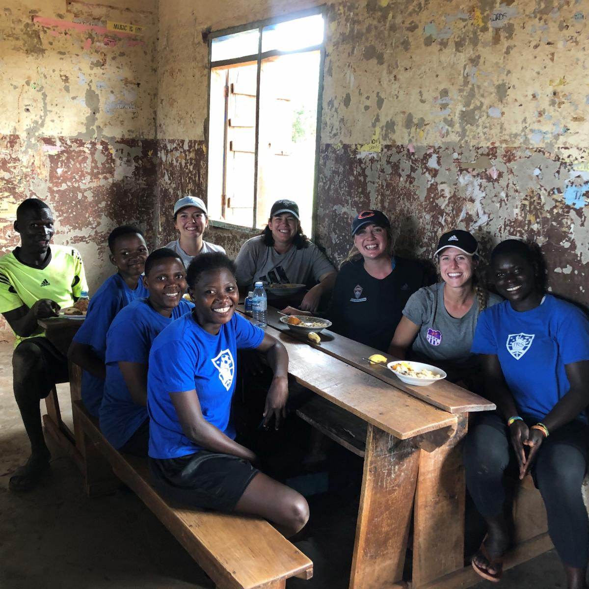 Rapids Youth Soccer Staff Volunteer In Uganda
